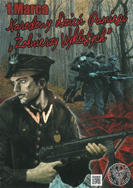 Dzień Żołnierzy Wyklętych, 1 marca, plakat