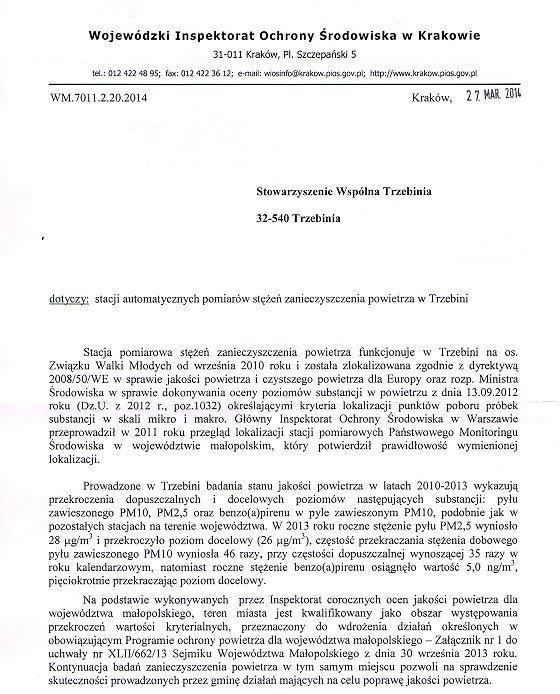 Odp. WIOŚ, cz. 1