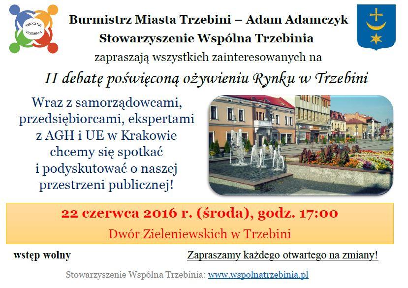 plakat_debata-ozywienie rynku_22.06.2016